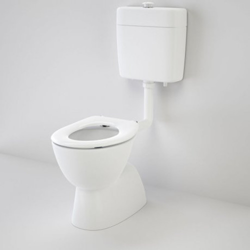 Care 200 V2 Connector (S Trap) Suite With Caravelle Care Single Flap Seat - White [151930]