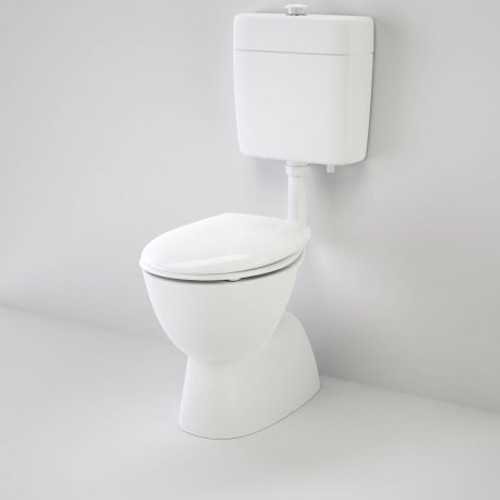 Care 200 V2 Connector (S Trap) Suite With Caravelle Care Double Flap Seat - White [151931]