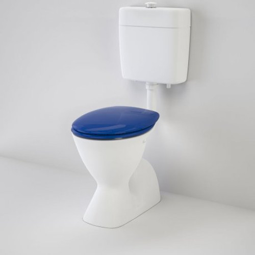 Cosmo Care V2 Connector (S Trap) Suite With Caravelle Care Double Flap Seat - Sorrento Blue [151932]