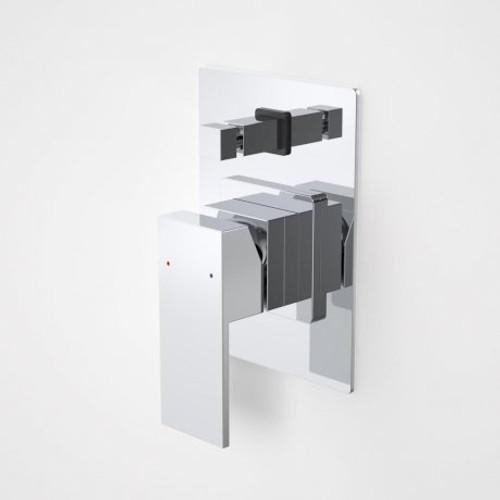Quatro Solid Bath/Shower Mixer With Diverter [127878]