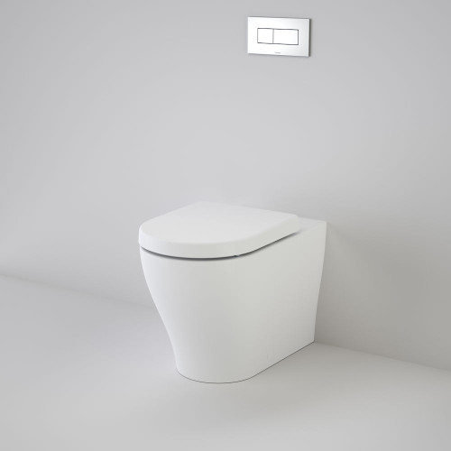 Luna Cleanflush® Invisi Series II® Wall Faced Toilet Suite [156653]