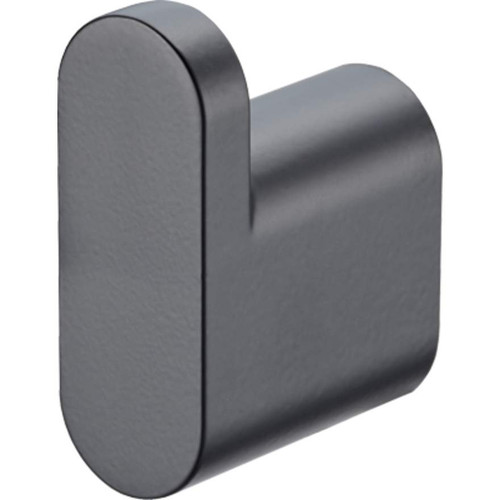 Madrid Matte Black Robe Hook [158751]