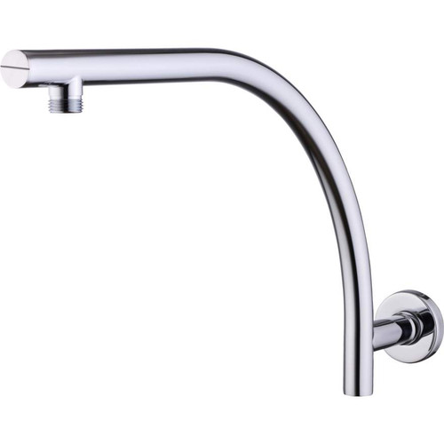 Rome Chrome Raised Wall Mounted Shower Arm [158936]
