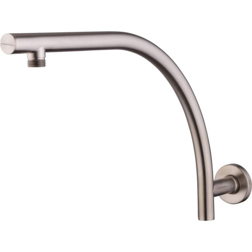 Rome Brushed Nickel Raised Wall Mounted Shower Arm [158938]