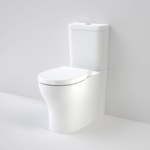 Opal Cleanflush Easy Height Wall Faced Close Coupled Suite With Double Flap Seat [166560]