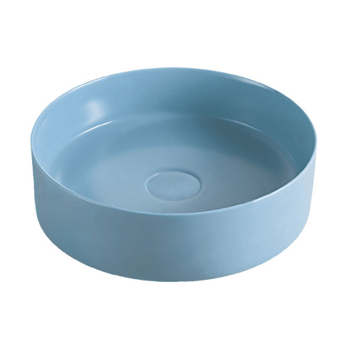 Reba Matte Blue Above Counter Basin [166671]