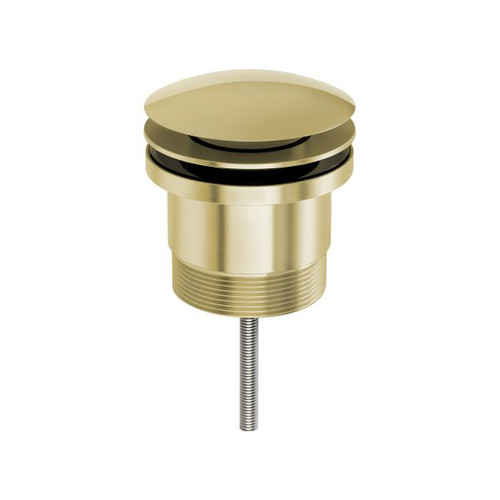 40mm Pop Up Universal Waste-Brushed Gold [156958]