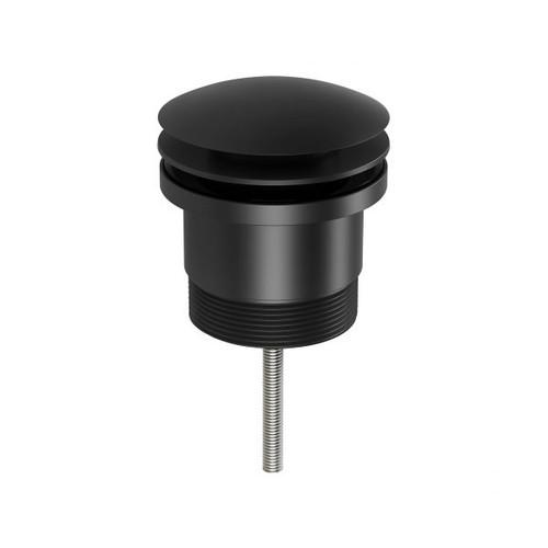 40mm Pop Up Universal Waste-Matte Black [156957]