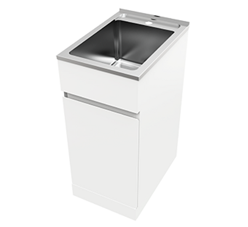 Nugleam 35L Soft Close Laundry Unit-1TH [166501]