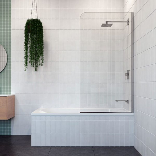 Cascade Pivot Panel Bath Shower Screen [122330]