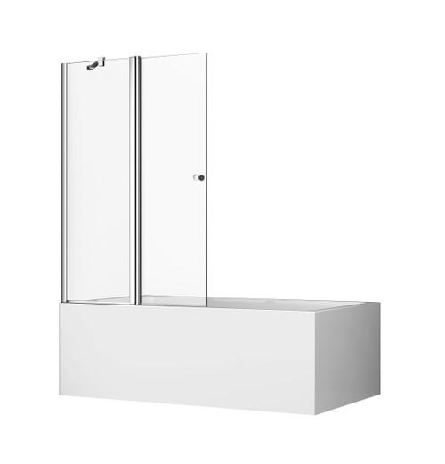 Cascade Fixed/Swing Pivot Panel Bath Shower Screen [131374]