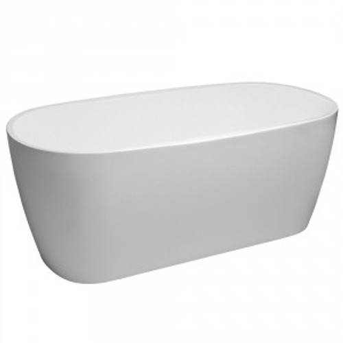 Aruba Curved 1500mm Freestanding Bath [133562]