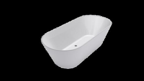Elinea 1500 Freestanding Bath (White) [150218]