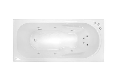 Modena 1635 Santai 10-Jet Spa Bath [126405]