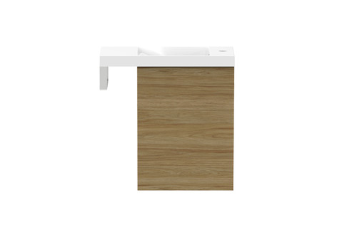 Petite 550mm Wall Hung Vanity With Integrated Towel Rail [155448]