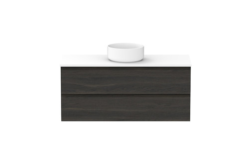 Emporia 1200 All Drawer Wall Hung With Centre Bowl [156654]