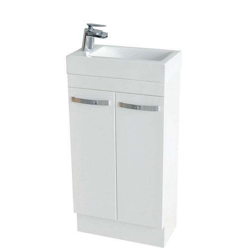 RALPH 450 Ensuite on Kickboard - Solid Doors-1 Taphole [156850]