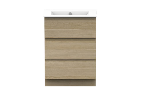 Glacier All-Drawer Ensuite Trio 600 Centre Bowl [159594]