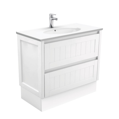Rotondo Hampton 900 Vanity on Kickboard [165425]