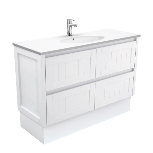 Rotondo Hampton 1200 Vanity on Kickboard [165428]