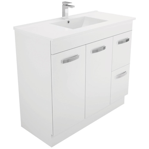 Dolce UniCab™ 1000 Vanity on Kickboard - Right Drawers [165271]
