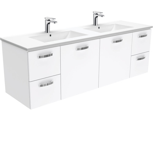 Dolce UniCab™ 1500 Double Bowl Wall-Hung Vanity [165278]