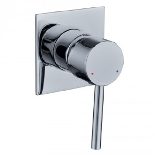 Projix Bath Or Shower Mixer (Square Wall Plate) [136015]