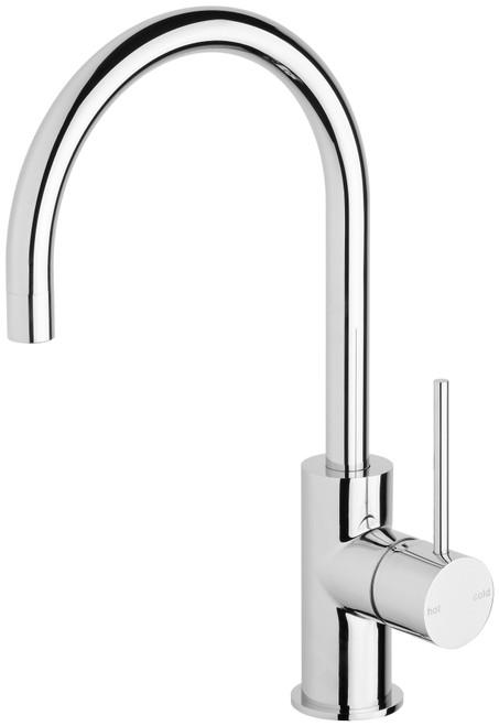 Vivid Slimline Sink Mixer  Gooseneck [130644]