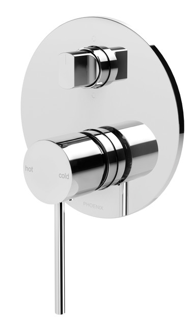 Vivid Slimline Shower / Bath Diverter Mixer [130650]