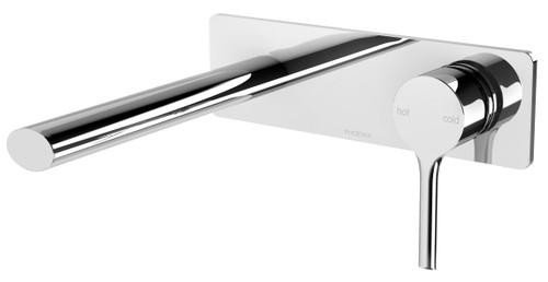 Vivid Slimline Oval Wall Basin Mixer Set [150351]