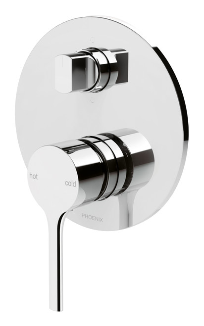 Vivid Slimline Oval Shower / Bath Diverter Mixer [150353]