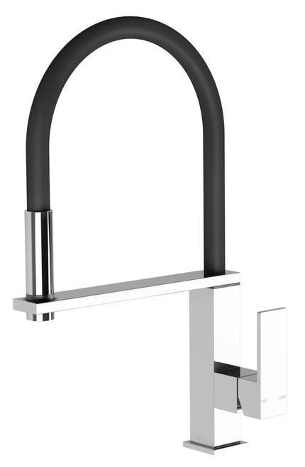 Vezz Flexible Hose Sink Mixer Square [150316]