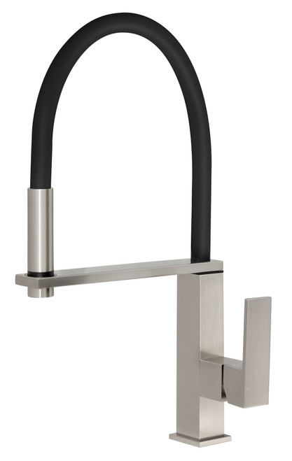 Vezz Flexible Hose Sink Mixer Square [150317]