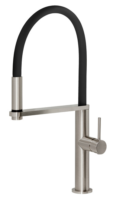Blix Flexible Hose Sink Mixer Round [150313]