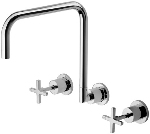 Radii Wall Sink Set [150431]