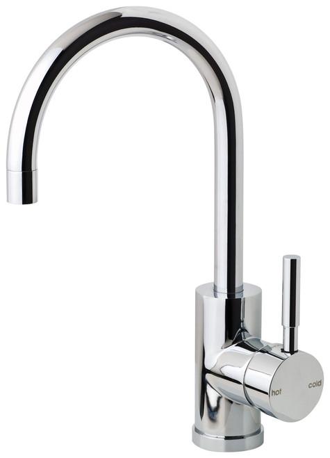Vivid Sink Mixer  Gooseneck [150447]