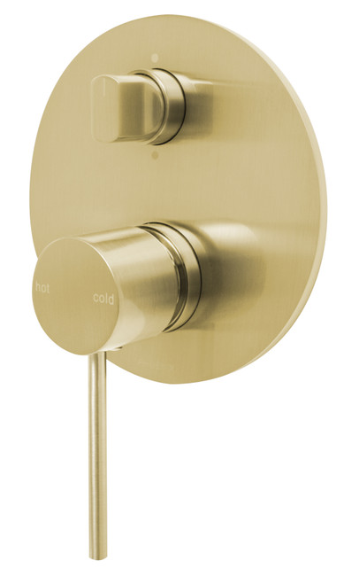 Vivid Slimline Shower / Bath Diverter Mixer [155454]