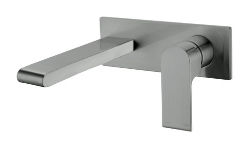 Wall Basin/Bath Mixer -Gun Metel Grey [181234]