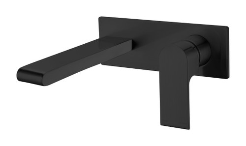 Wall Basin/Bath Mixer -Matte Black [181235]