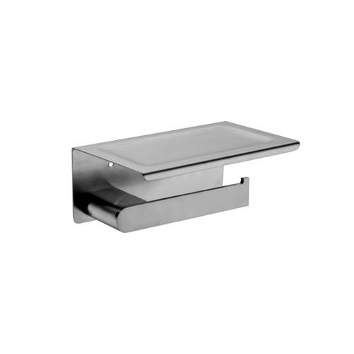 Toilet Roll Holder-Gun Metel Grey [181290]
