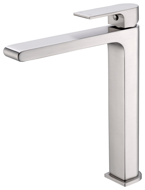 Tall Basin Mixer-Brushed Nickel [181228]