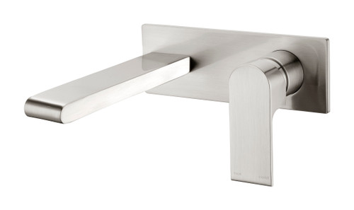 Wall Basin/Bath Mixer -Brushed Nickel [181232]
