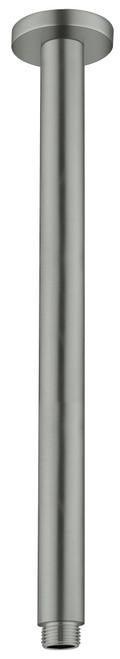 Round Ceiling Arm 300mm -Gun Metal Grey [181333]