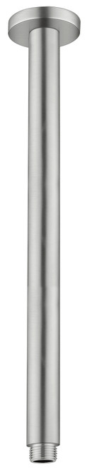 Round Ceiling Arm 300mm-Brushed Nickel [181331]