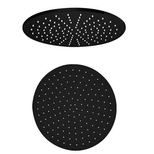 300mm Round Shower Head-Matte Black [195171]