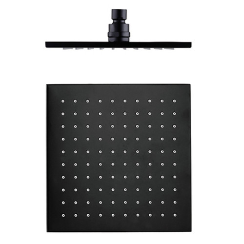 250mm Square Shower Head-Matte Black [195175]