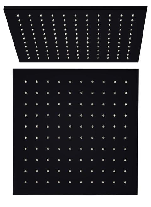 300mm Square Shower Head-Matte Black [195179]