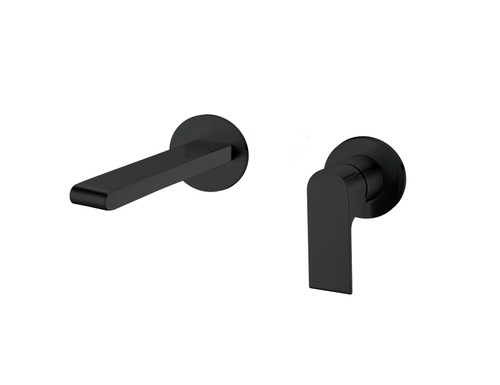 Wall Basin/Bath Mixer -Matte Black [194873]