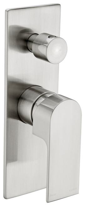 Shower Mixer With Diverter-Brushed Nickel [194878]