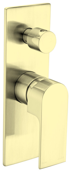 Shower Mixer With Diverter-Brushed Gold [194880]
